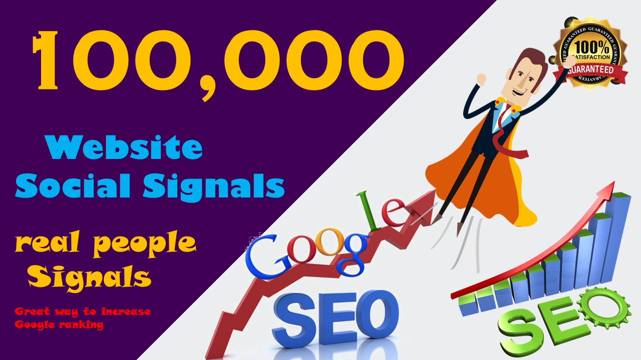 Powerful 100,000 PR10 Social Network Social Signals Backlink to Get More Traffic