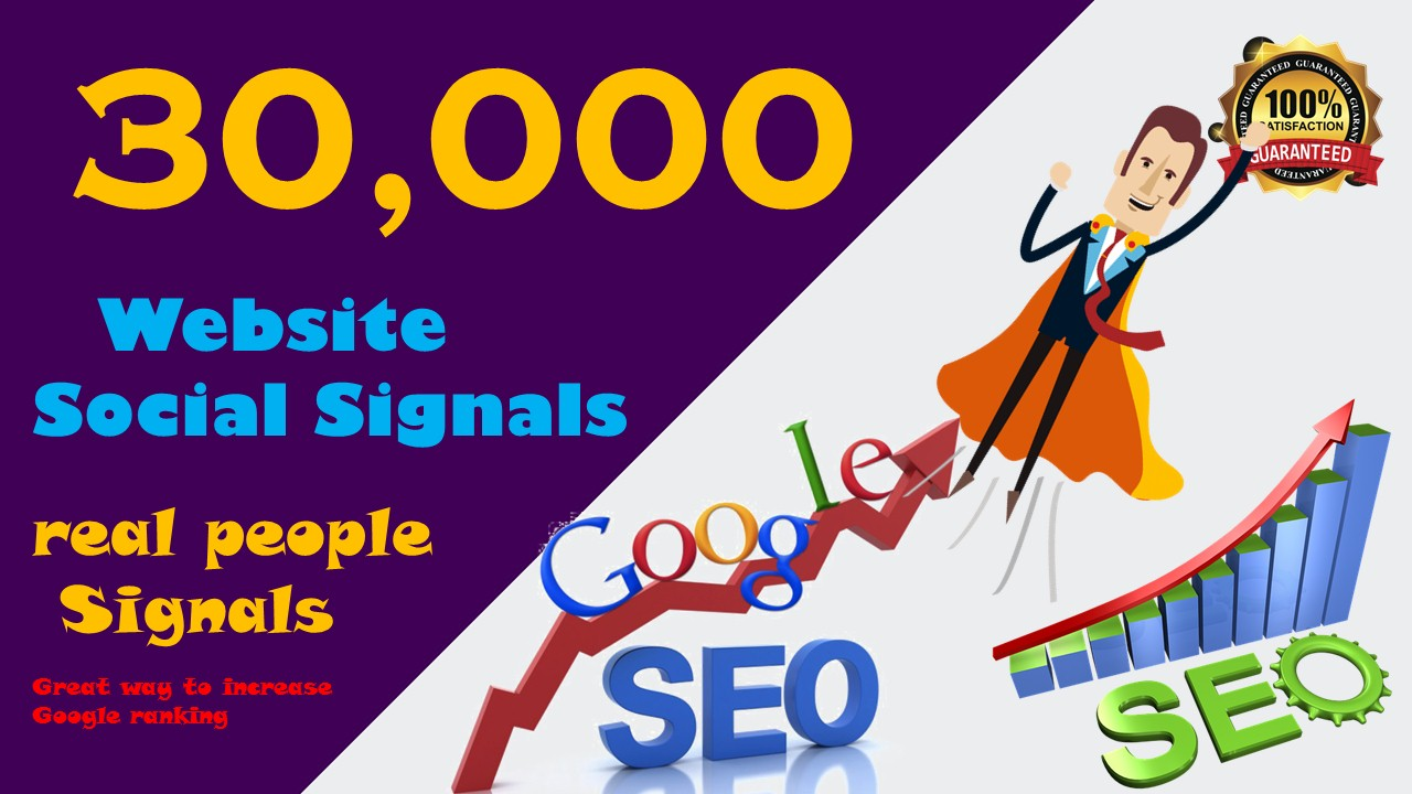 Powerful 30,000 PR10 Social Network Social Signals Backlink to Get More Traffic