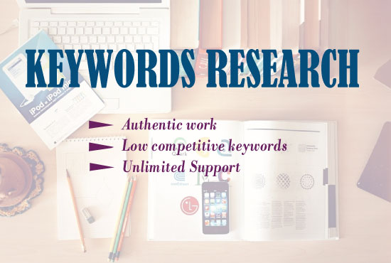 I can do effective 15 keywords research for your website