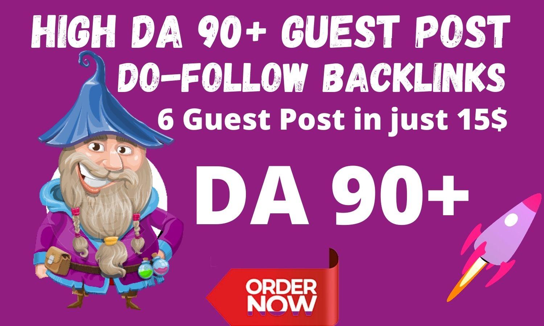 I will publish DA 40 to DA 90 Google News Appreoved websites- High Do Follow backlinks