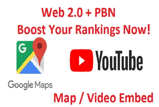 Video & Map Embeds that will Rocket Your Video or Map to 1st Page Rankings