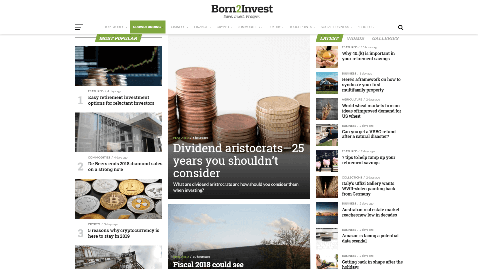 write a guest post on born2invest