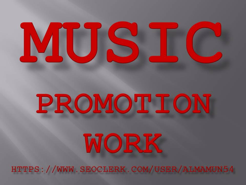 High-Quality Music Promotion Service 2021 on Seoclerk