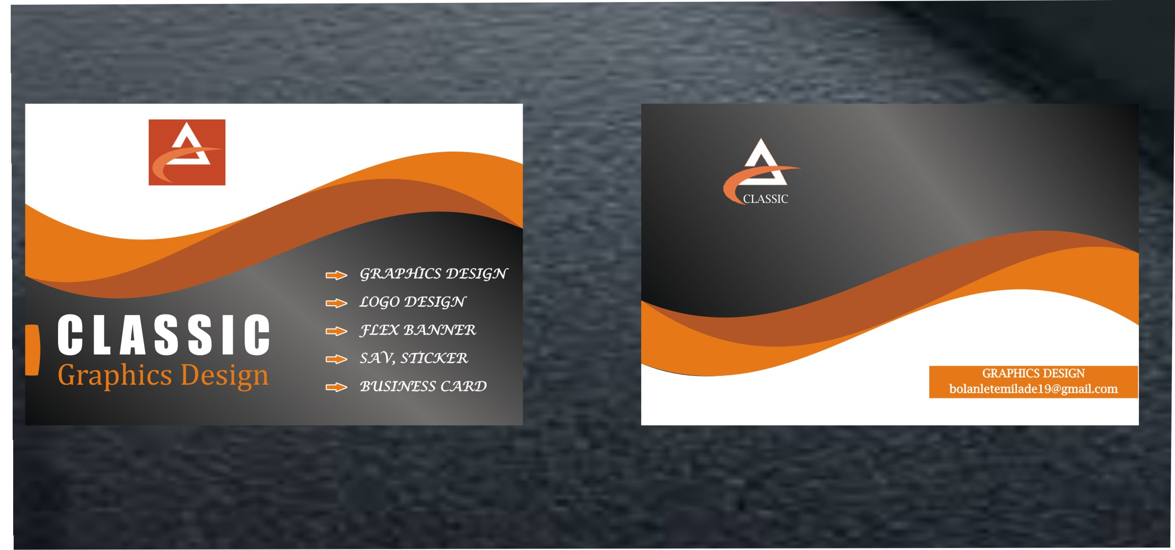 Design your professional card and logo