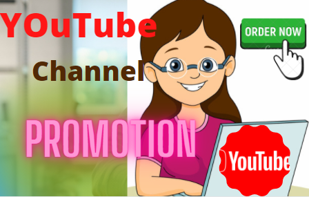 YouTube Account Promotions Via World Wide Real User Manually
