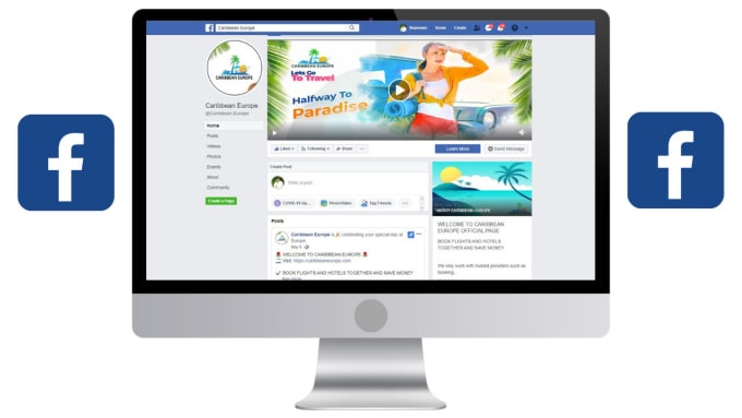I will facebook business page creation,  setup,  manage and optimize