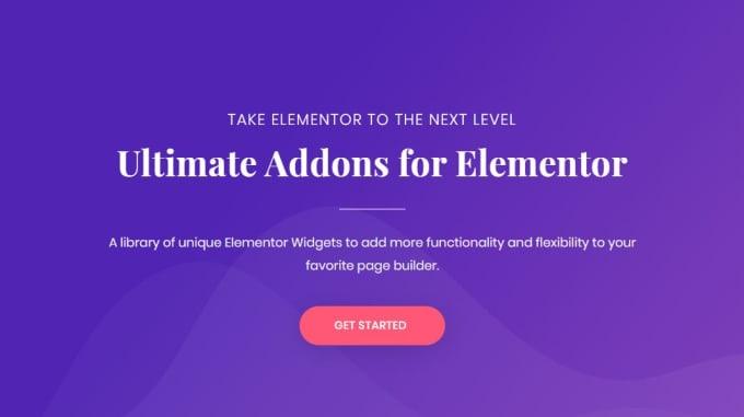 Install lifetime updatable Ultimate Addon for elementor Plugin
