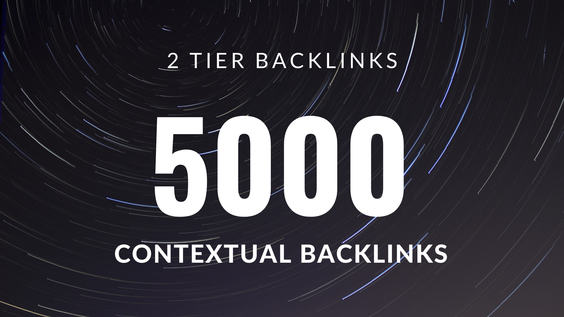 Build 5000 SEO Contextual Backlinks Tiered