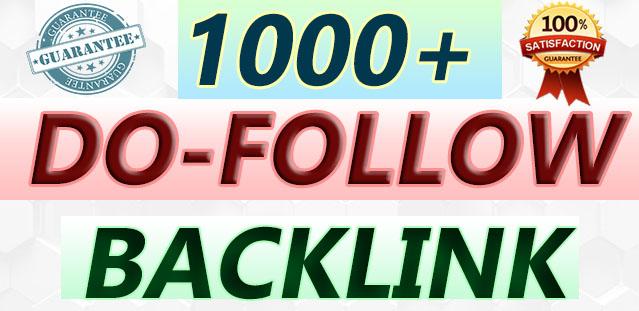 i Will DO 1000+ Do-Follow Backlink For Business SEO