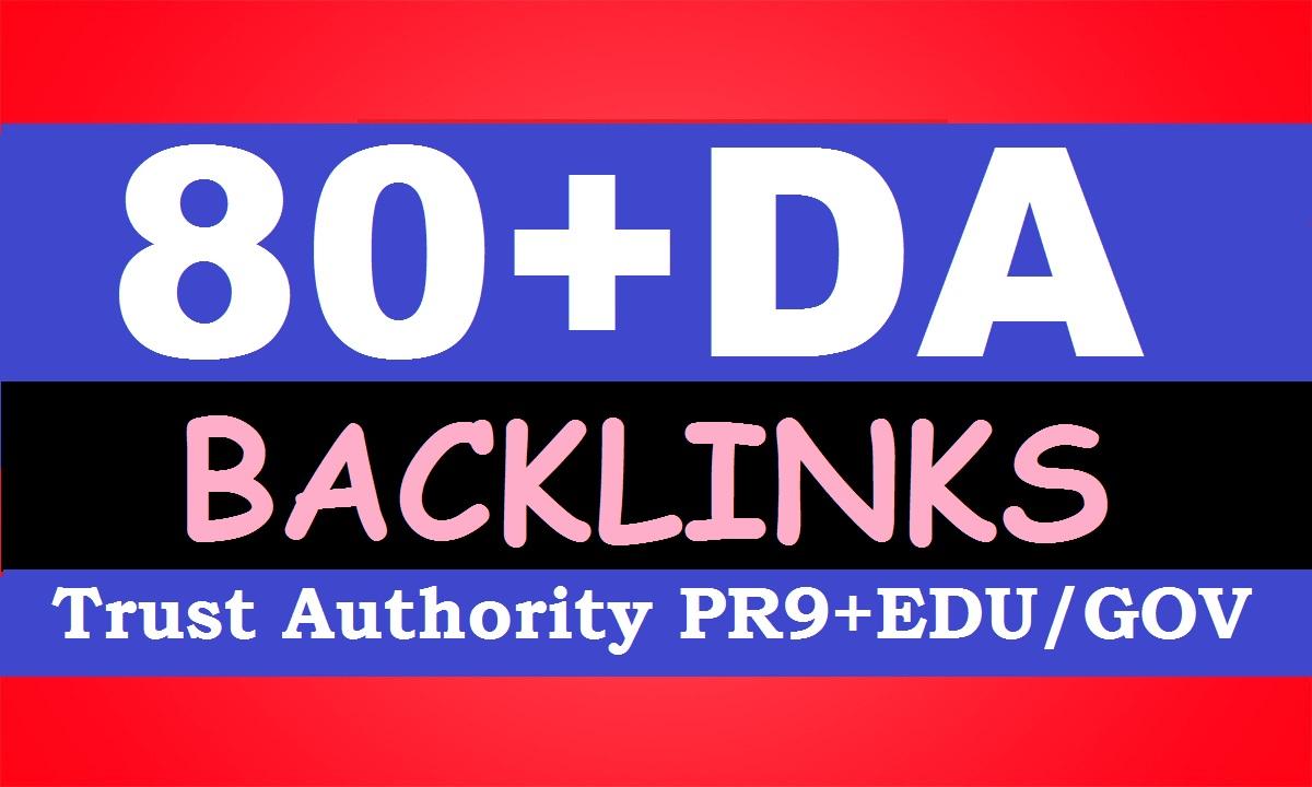 Build 80+DA SERP SEO Profile Backlinks Create For Ranking your Website, URL or Blog