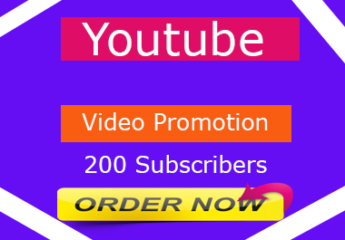 Youtube Video Promotion By Social Media Marketing