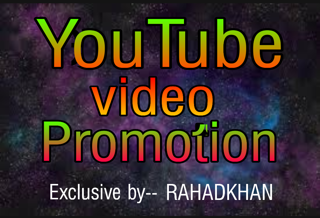 Give you super fast video promotion instant delivery
