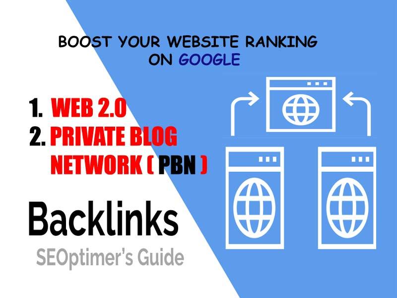 build dofollow PBN & WEB 2 0 SEO backlink manually