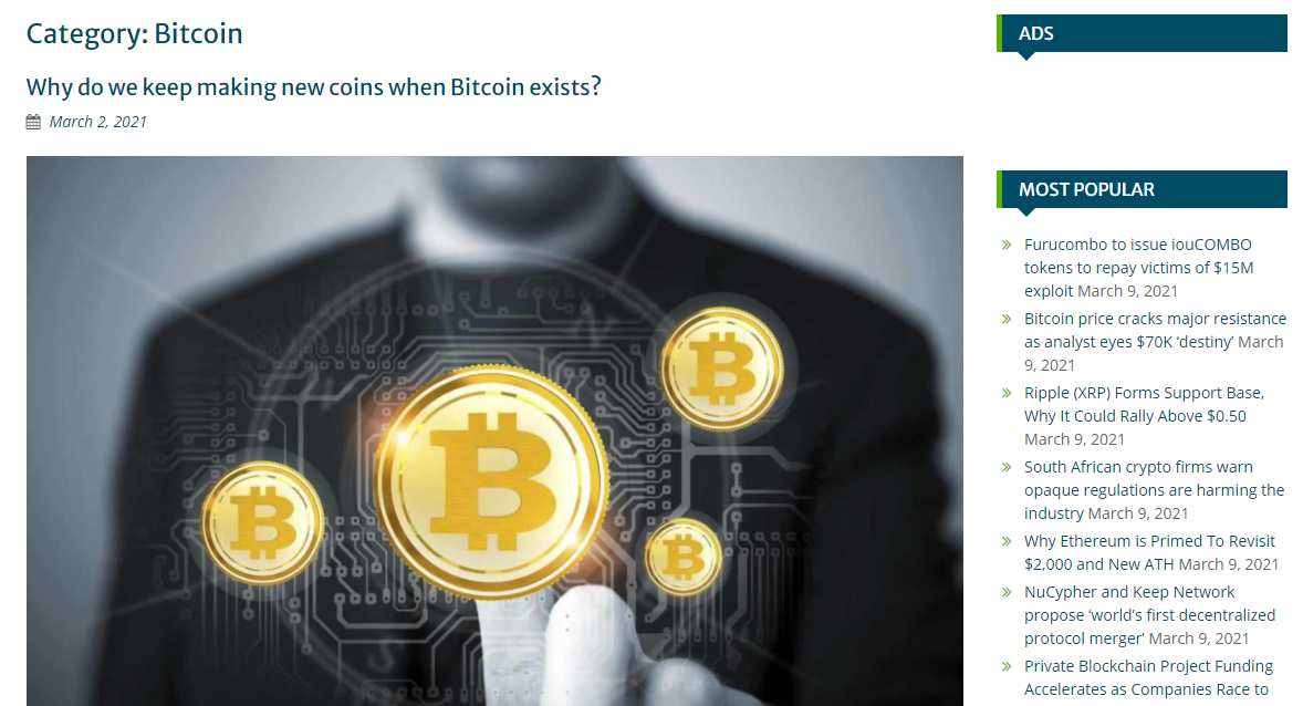 Publish Guest post on Premium Bitcoin News Site With Dofollow Backlink