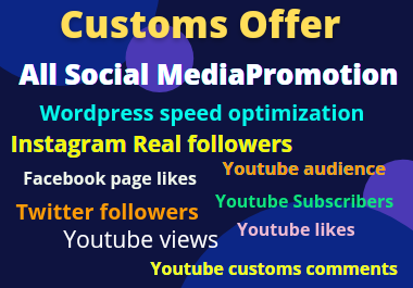 Speed up Wordpress Website and All social media marketing and organic promotion