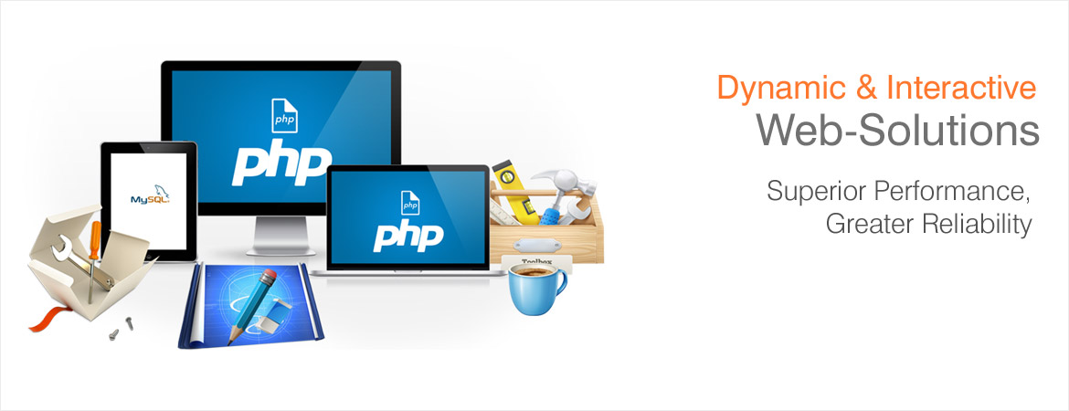 Developing professional websites with php