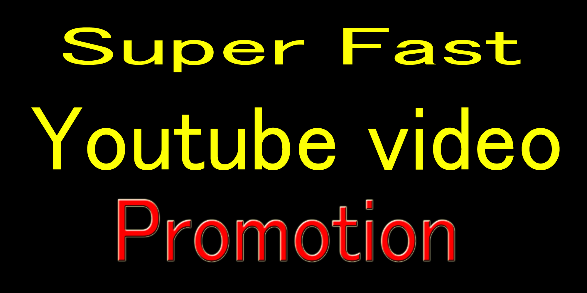 High Quality YouTube Video Promotion with good seo marketing
