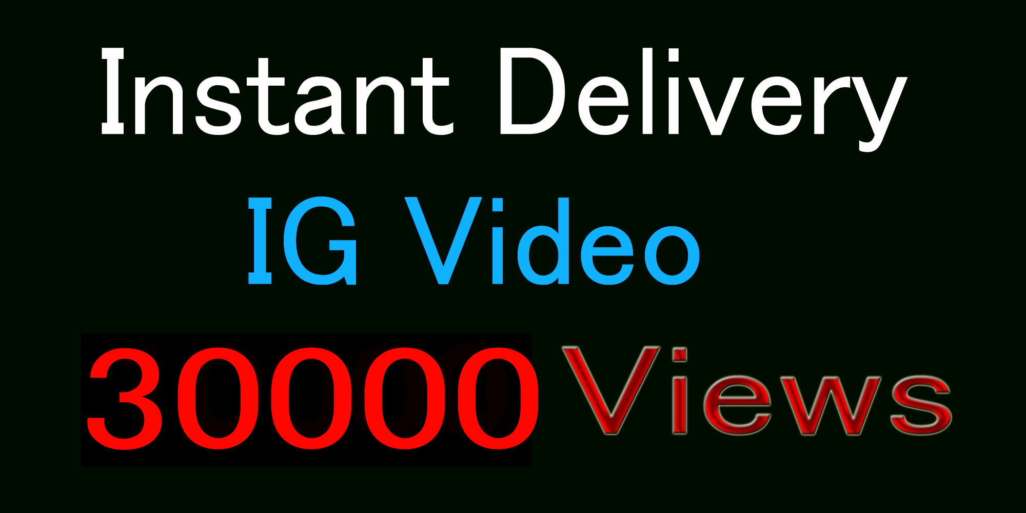 Super Instant 500+ Likes In Pic Or 30,000 Video Views Social media Marketing delivery in 1 min