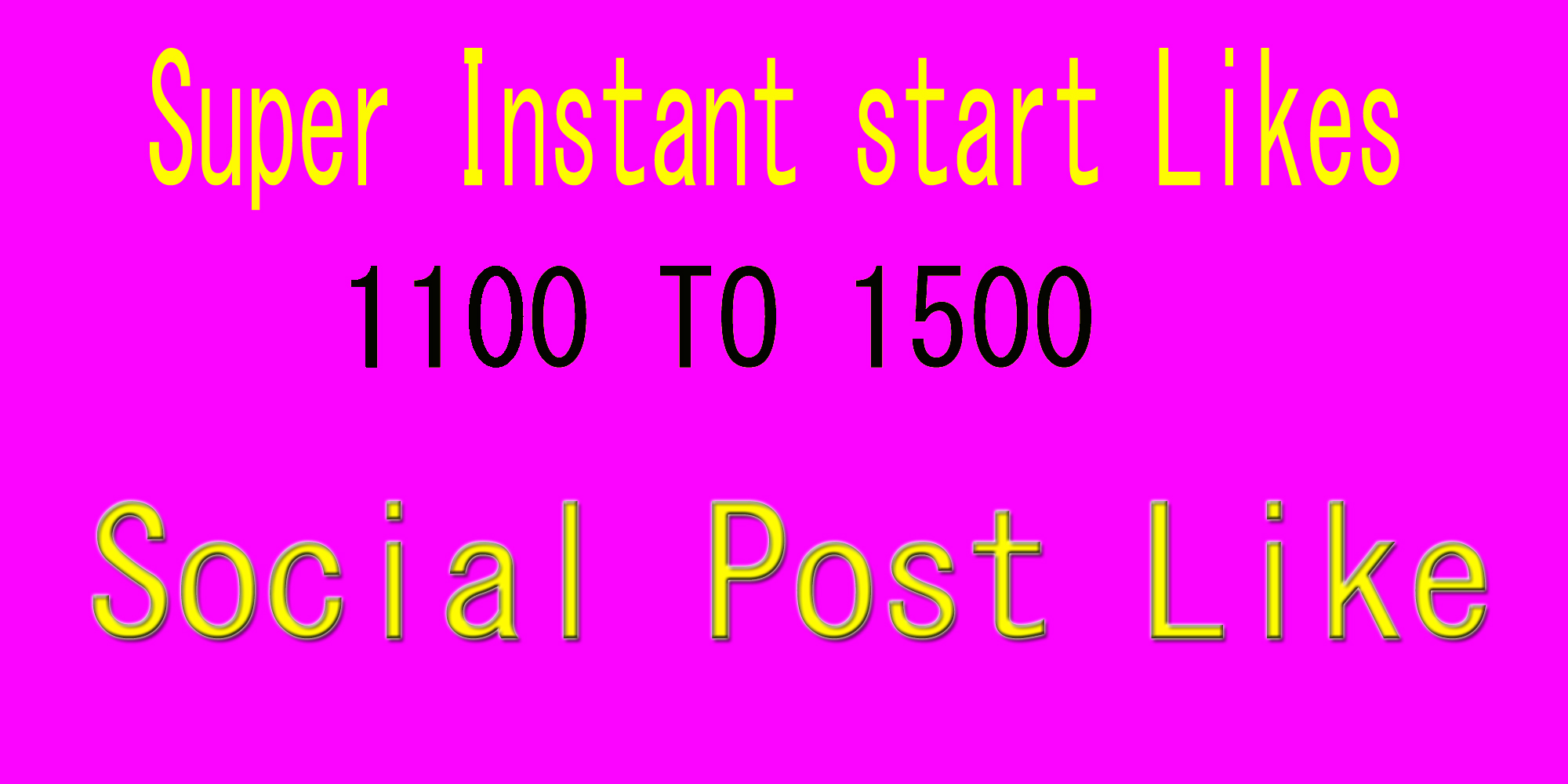 Instant 1000 to 1500 Social Pictures Promotion, video marketing in 1 hours delivery