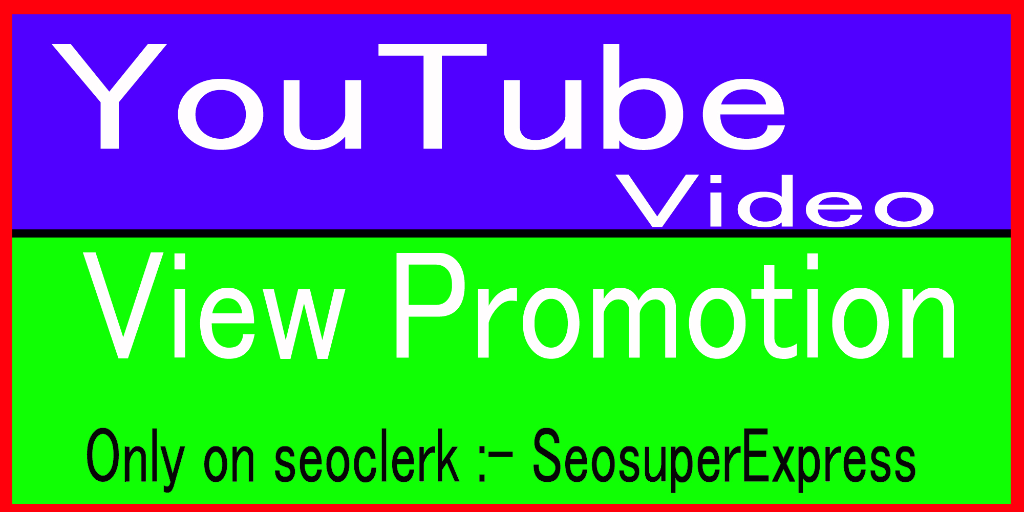 Real Youtube video promotion via social Media marketing Ranking
