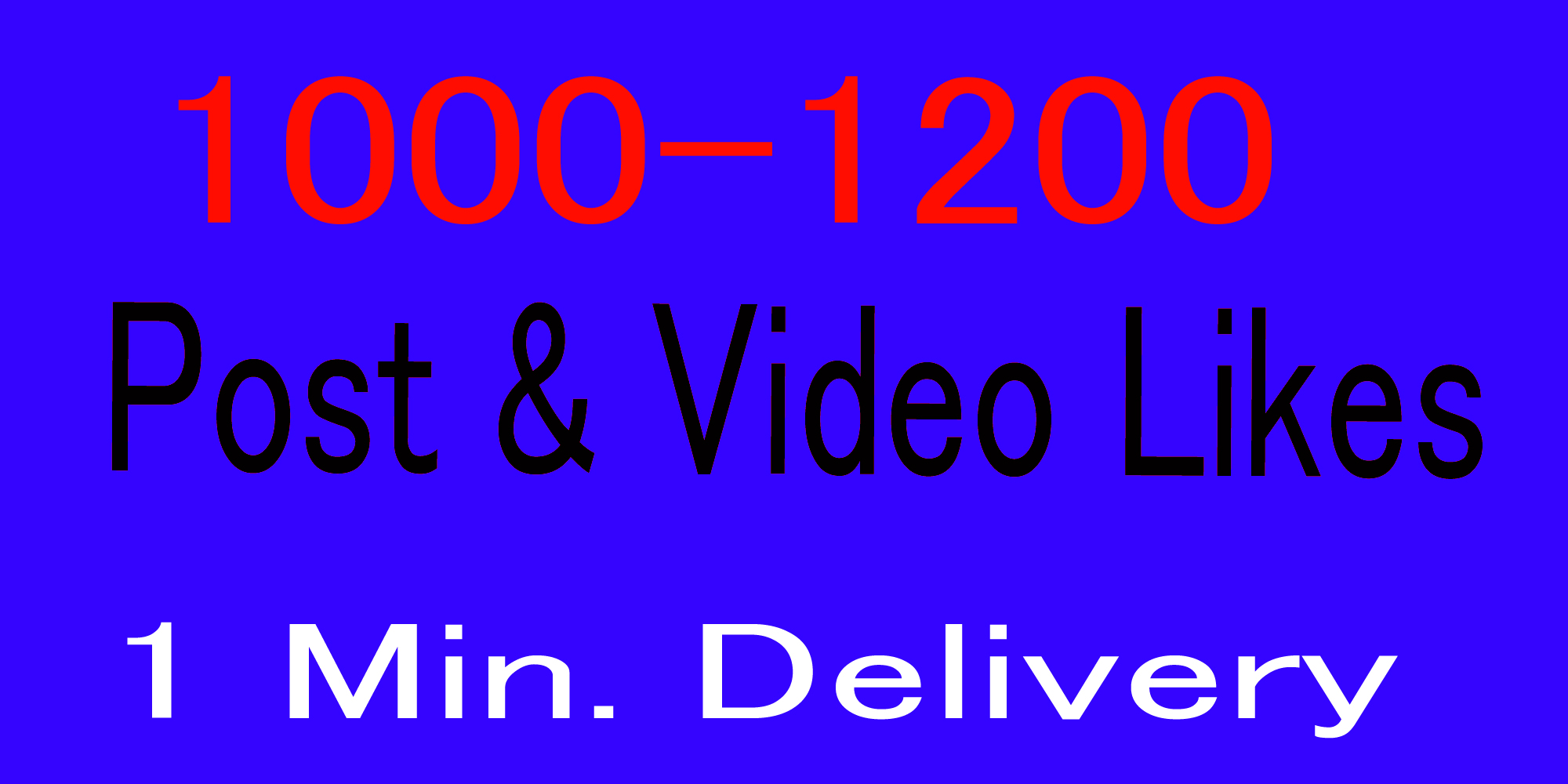Instantly Organic 1000- 1200 Social Pictures Promotion 1 mintus delivery