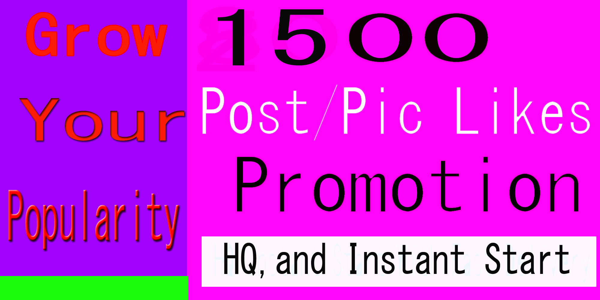 1500+ High Quality Social Pictures Post Promotion Instantly