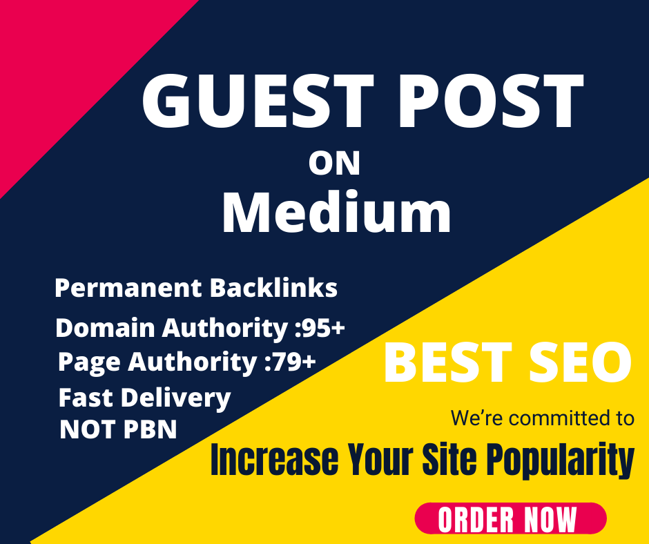 I will write and publish high quality guest post on Medium