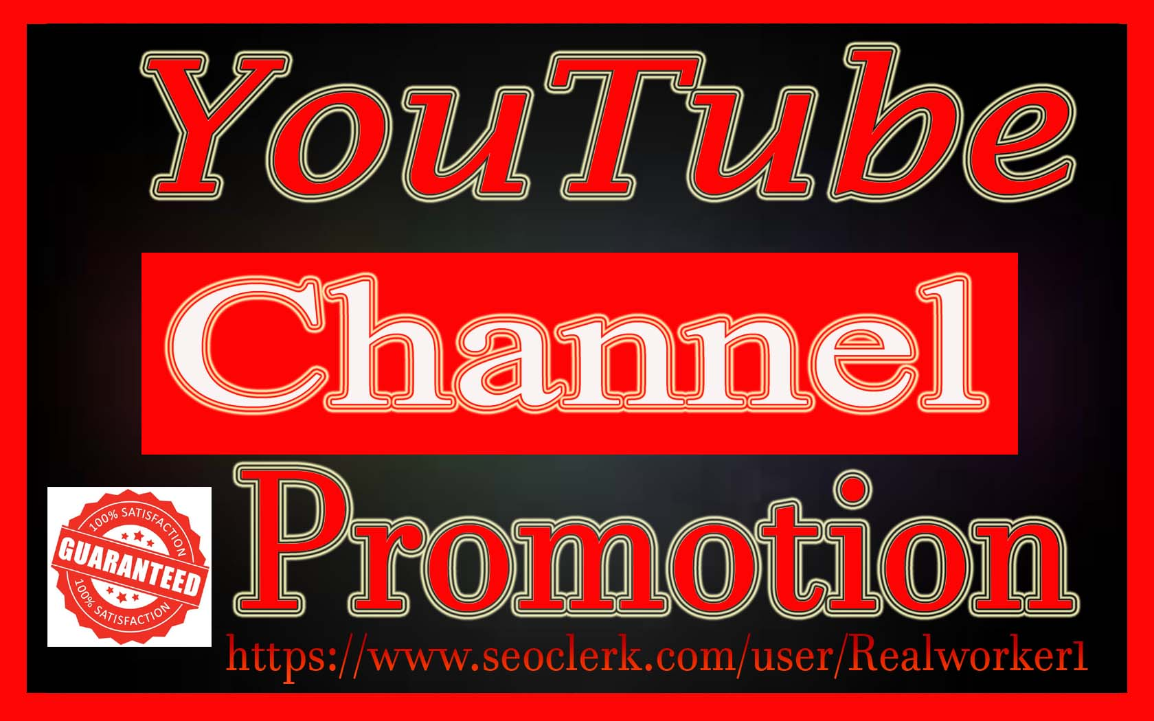 High Quality YouTube Promotion Social Media Marketing Fast Delivery
