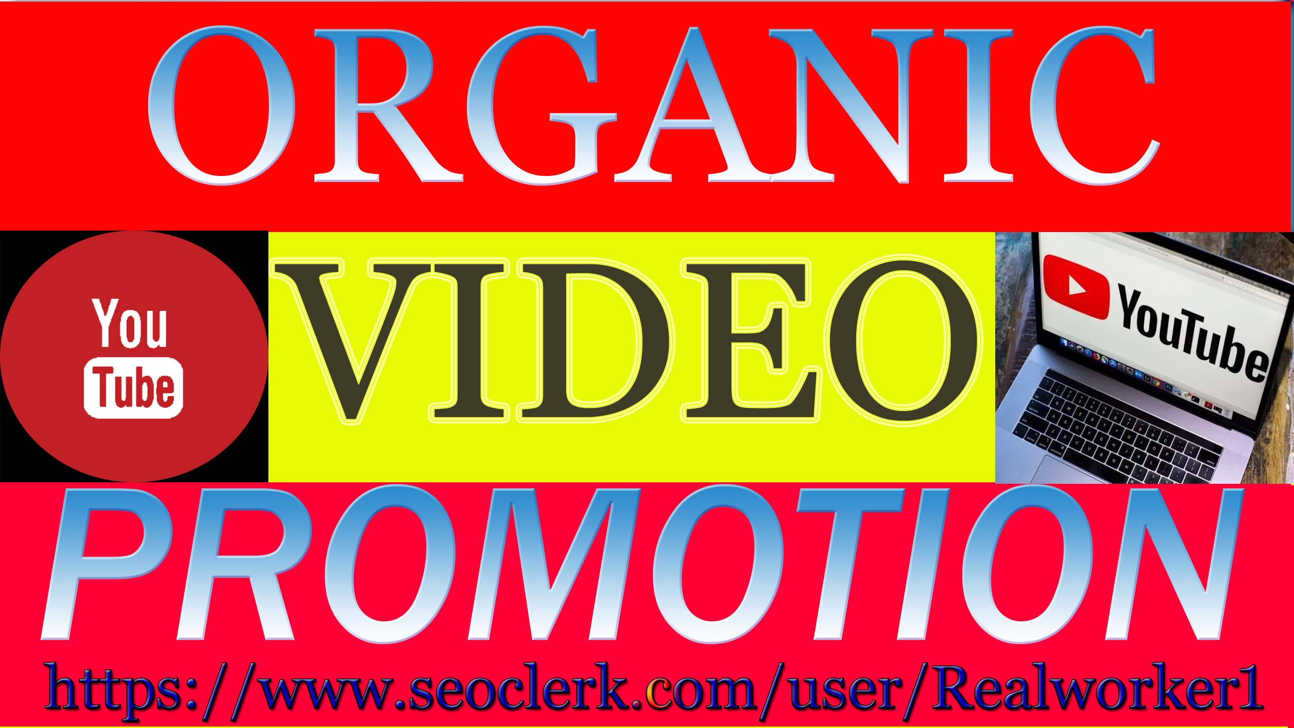 Instant Start & Fast YouTube Video Promotion Guaranteed Result