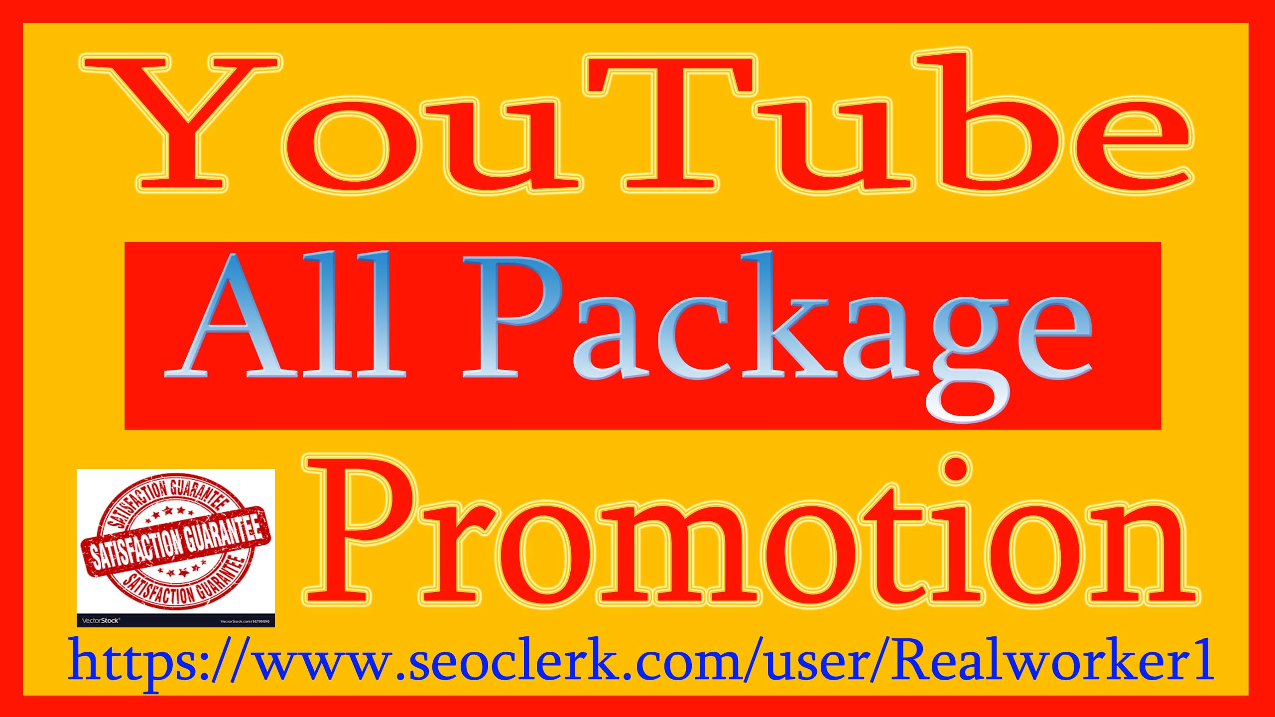 Get YouTube Video And Chanel Promotion Vai Real Audience