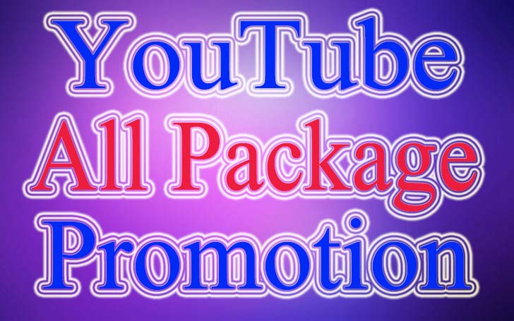 YouTube Video Package Promotion Genuine User