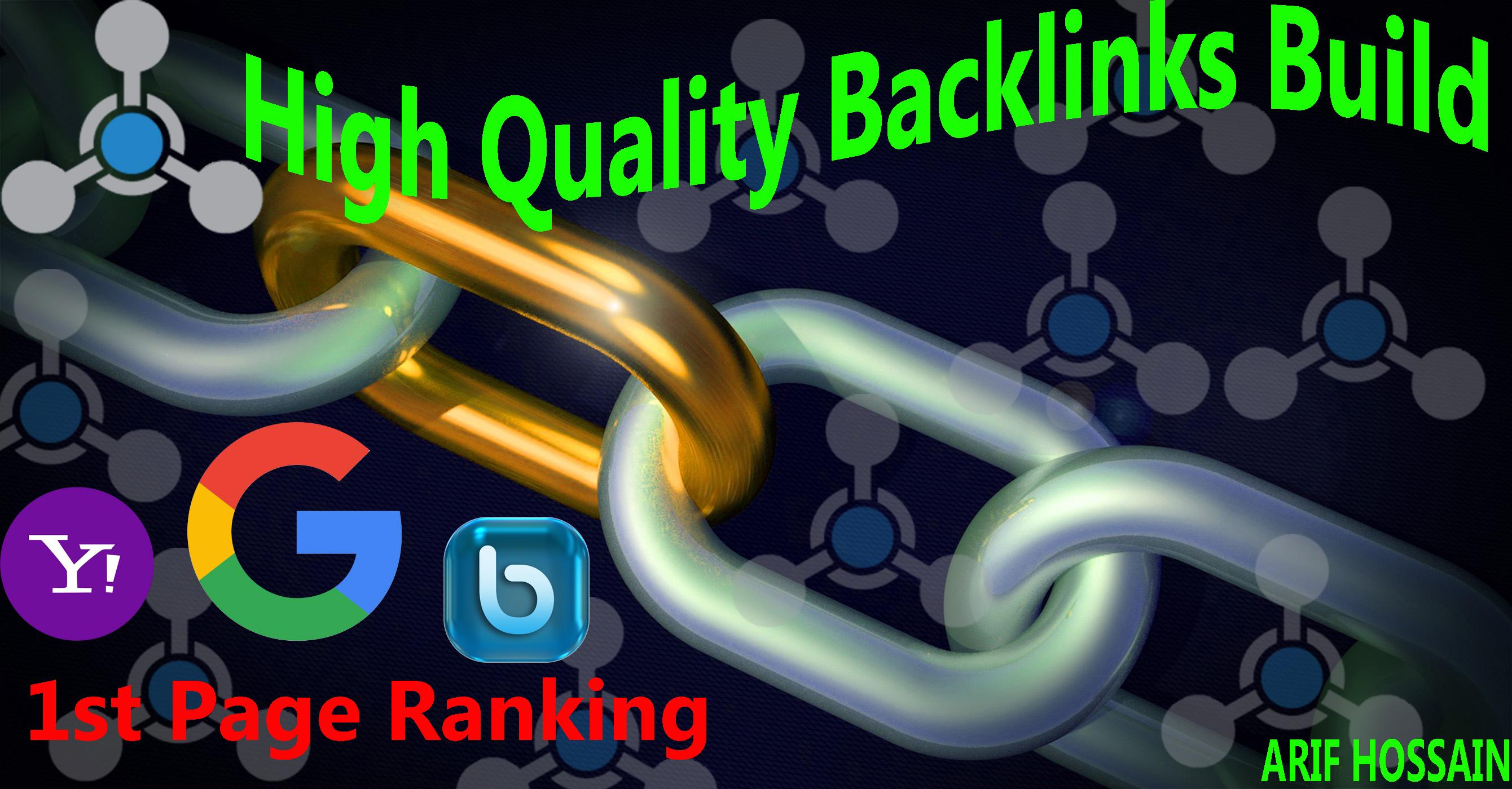 DA PA 80+ and PR 7+ web 2.0 site HQ 30+ Backlinks create