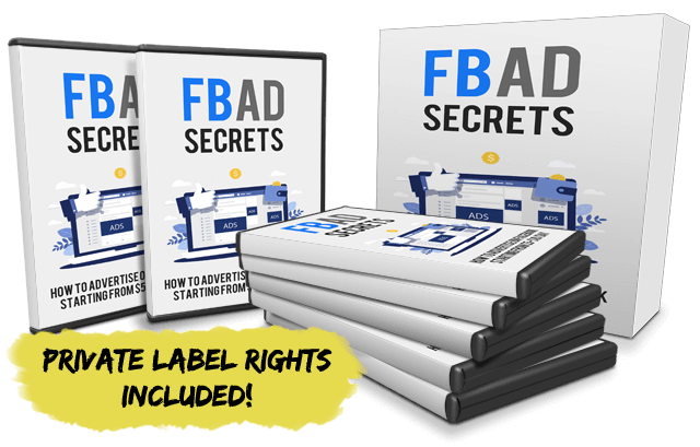FaceBook Ads Secrets with private label right