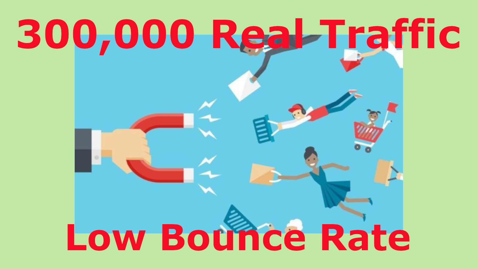 300,000 Real Traffic,  Website Visitors,  From Search Engines