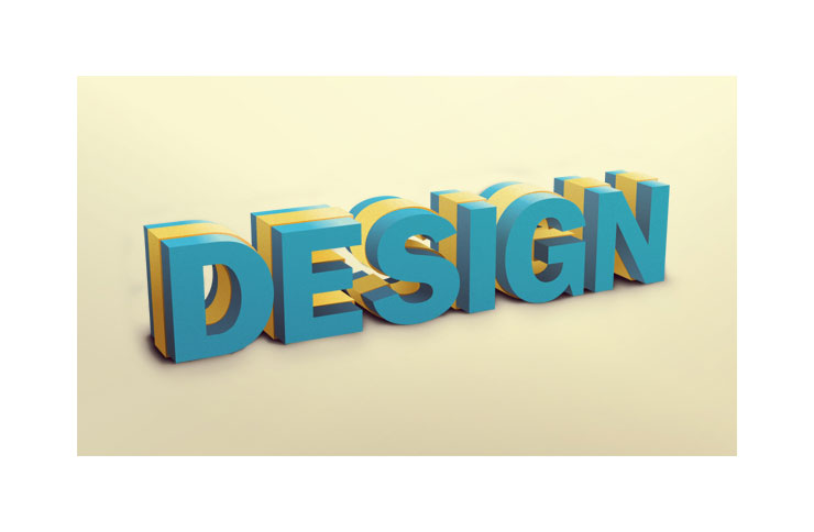 I will create any 3D text that you provide me with your desired colors using cinema 4d