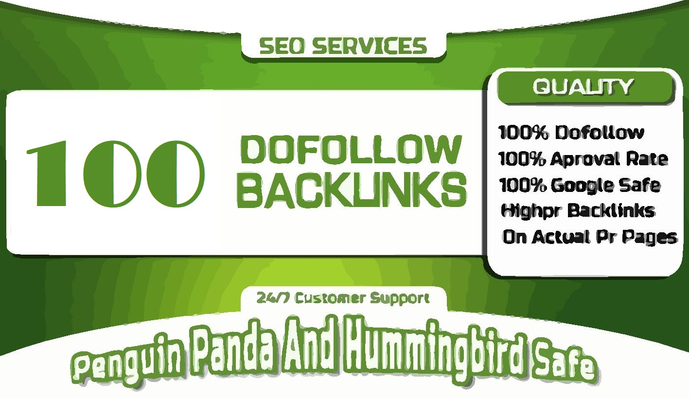 100 Social & Blog Mix Dofollow Backlinks