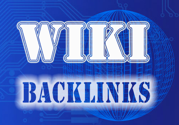 150 high quality wiki Backlinks