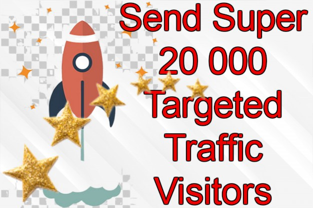 20 000 HighQuality Targeted Visitor +5000 For FREE