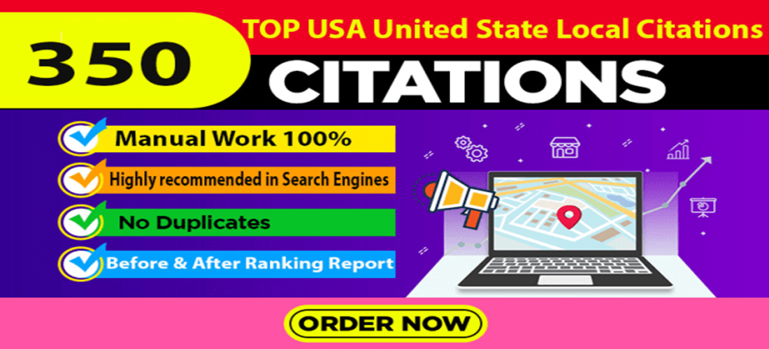 350 USA local citations and directory submission