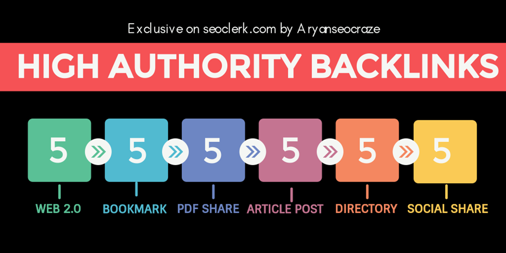 I will do Pr9 High Authority Manual seo Link building,  backlinks