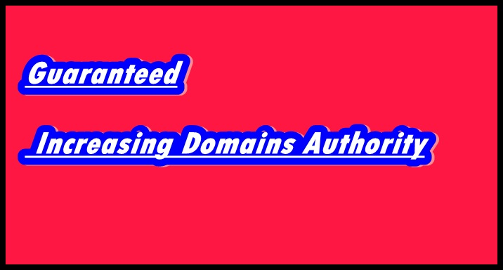New Domains Guaranteed Better Rank And 100 Percent Increasing DA With Live Proof