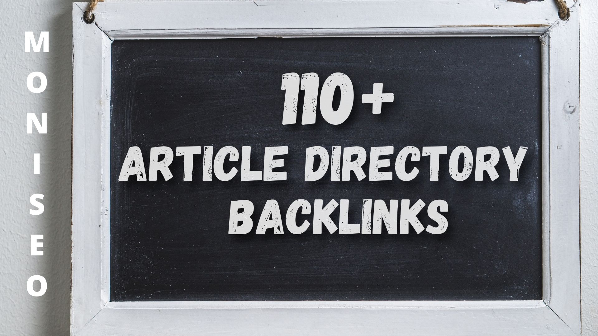 110+ Article Directory SEO Quality Backlinks