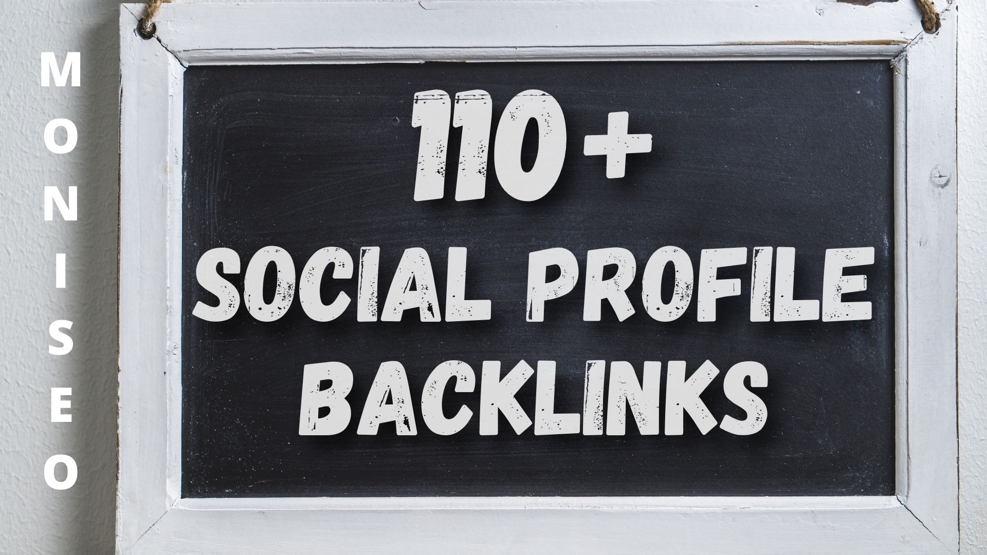 Do 110+ Social Profile SEO Mix Backlinks from various websites