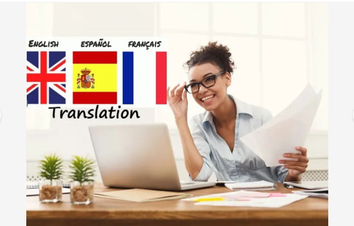 provide a perfect english to french and spanish translation