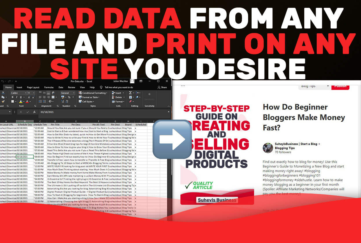 I will web scraping,  data mining,  extraction and data collection