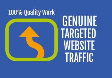 I will drive Genuine Targeted Web Traffic to Increase Your Wesite Revenue