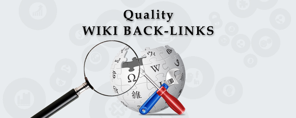 I will give you 500 Wiki backlinks (mix profiles & articles)