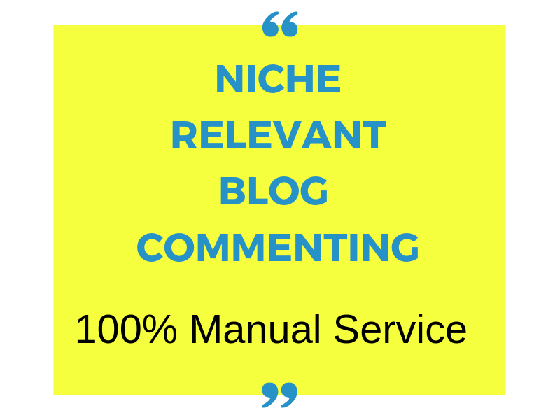 do 25 awesome niche relevant blog comment