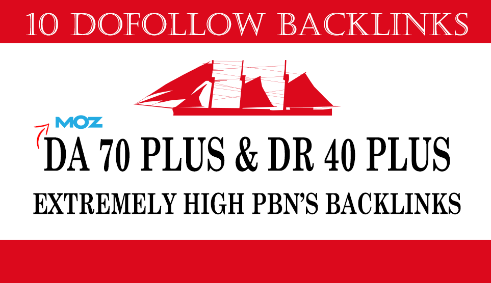 build 10 DA70 plus and DR40 plus pbn backlinks dofollow