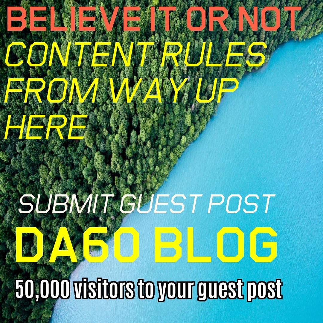 Guest Post on CLIXLR8 ONLINE Network Get DA60 Backlink Plus 10,000 Visitor Package Free